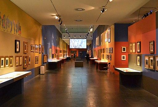 Interior del museu Valencià de la Il·lustració i de la Modernitat (MUVIM)