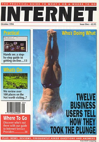 Internet Magazine - The first edition of Internet Magazine
