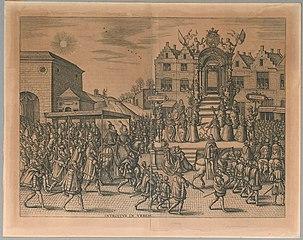 Intrede van Albert en Isabella in Antwerpen
