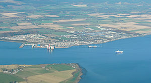 Invergordon - Panorama of Invergordon
