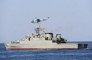Moudge-class frigate class of Iranian light frigates