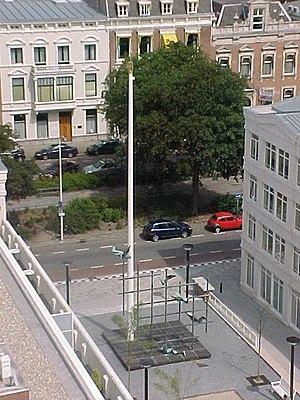 Aart van den IJssel - Aart van den IJssel's Irenemonument in The Hague