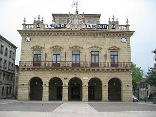Irun Municipality in Euskadi, Spain