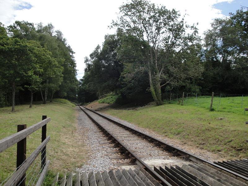 File:Island Line railway at Wootton Packsfield Lane 2.JPG