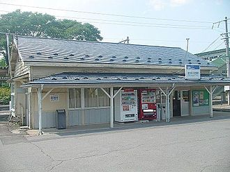 Iwate-Kawaguchi Station - Iwate-Kawaguchi Station in August 2007