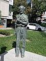 János Balázs statue, 2020 Salgótarján.jpg
