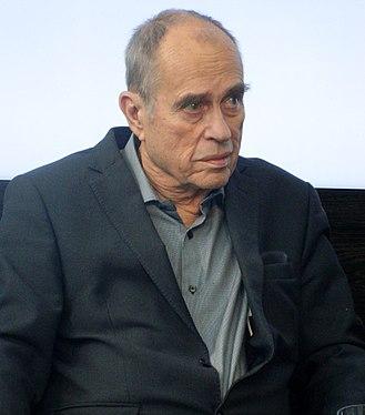 Jörn Donner - Jörn Donner at the Helsingin Sanomat Media Center,  Helsinki (2015)