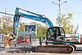 JCB JS220 Excavator in Sofia 2012 PD 1.jpg