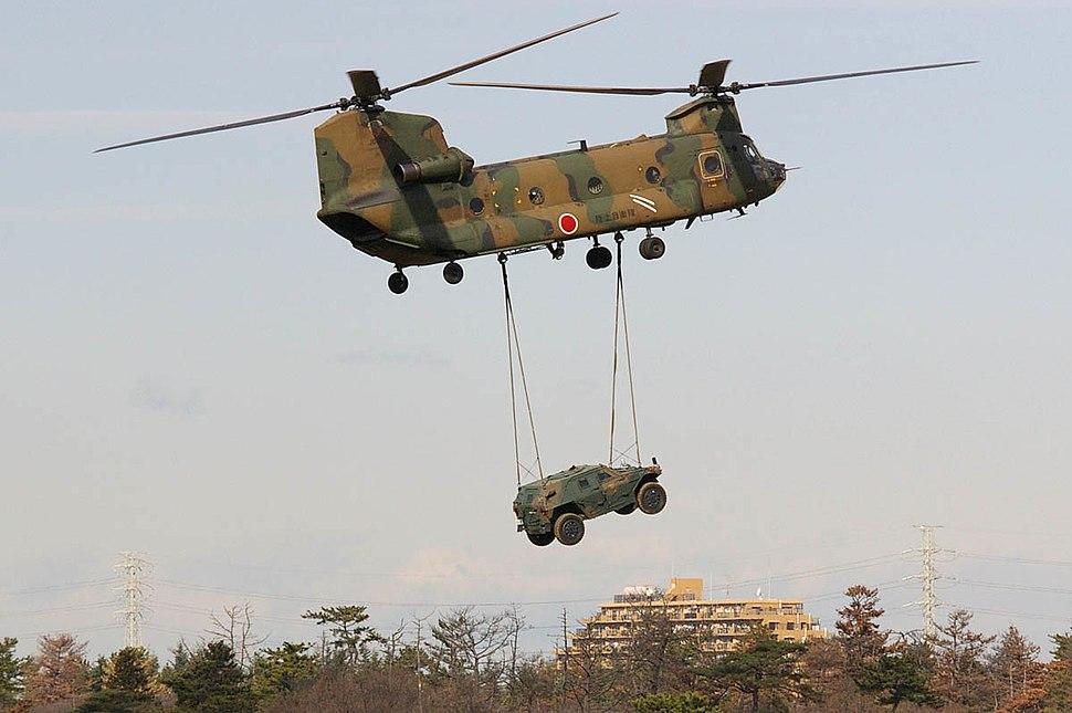 JGSDF 1st Airborne Brigade 20080113(Narashino)