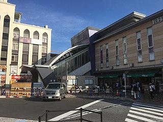 Nishi-Funabashi Station Railway and metro station in Funabashi, Chiba Prefecture, Japan