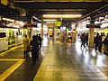JR Yamanote line platforms - Shinagawa stn - Feb 20 2018.jpg