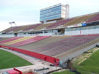 Jack Trice Stadium - Newly renovated Jack Trice Stadium with new suites between the first and second deck