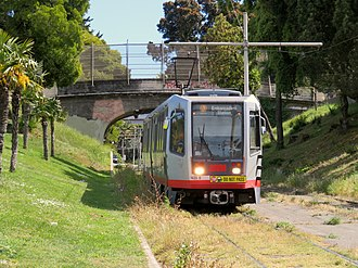 J Church train in Dolores Park, May 2018.JPG