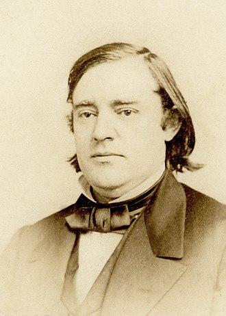 John Philip Newman - Image: J Gurney & Son crayon cdv of John Philip Newman 1826 1899 at 707 Broadway 2