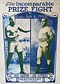 Jack Johnson vs Jim Jeffries - 4 July 1910 World Heavyweight Boxing poster.jpg