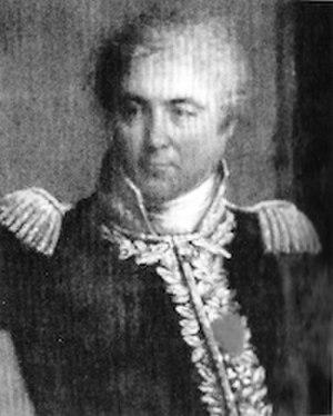 Jacques-Antoine de Chambarlhac de Laubespin - General of Division Jacques-Antoine de Chambarlhac de Laubespin