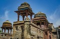 Jahaz Mahal tilework.jpg