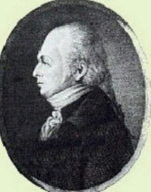 Jacob Abraham de Mist - Jakob Abraham de Mist (Cape Archives)