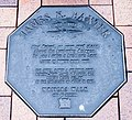 James K. Baxter memorial plaque in Dunedin.jpg