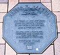 James K. Baxter memorial plaque in Dunedin.jpg