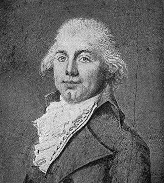 James Monroe - The earliest preserved portrait of James Monroe as Minister Plenipotentiary to France in 1794