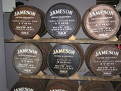 Jameson Barrels in Dublin.jpg