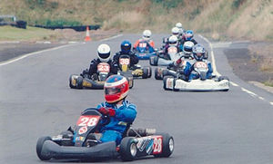 TKM (Karting) - Senior TKM kart race at Shenington Kart Club in 2004