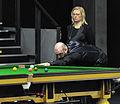 Jamie Burnett and Maike Kesseler at Snooker German Masters (DerHexer) 2013-01-30 01.jpg