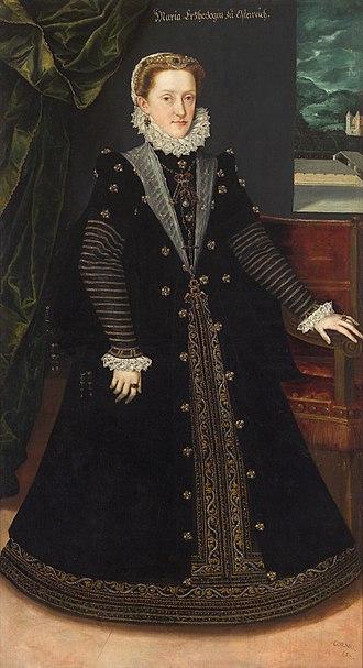 Maria Anna of Bavaria (1551–1608) - Image: Jan Cornelisz. Vermeyen 005