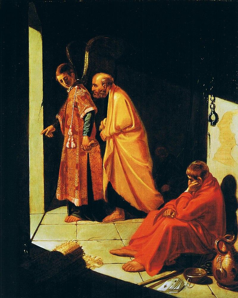 Jan Pynas - Bevrijding van St. Peter (Rembrandthuis).jpg