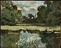 Jan Stanisławski - Park landscape with a pond - MP 1380 MNW - National Museum in Warsaw.jpg