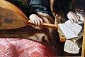 Jan sanders van hemessen (bottega) e monogrammista braunschweiger, maria maddalena e sullo sfondo cristo in casa di marta, 1540 ca. 02 spartiti.JPG
