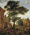 Jan van der Heyden - A Castle Ruin.jpg