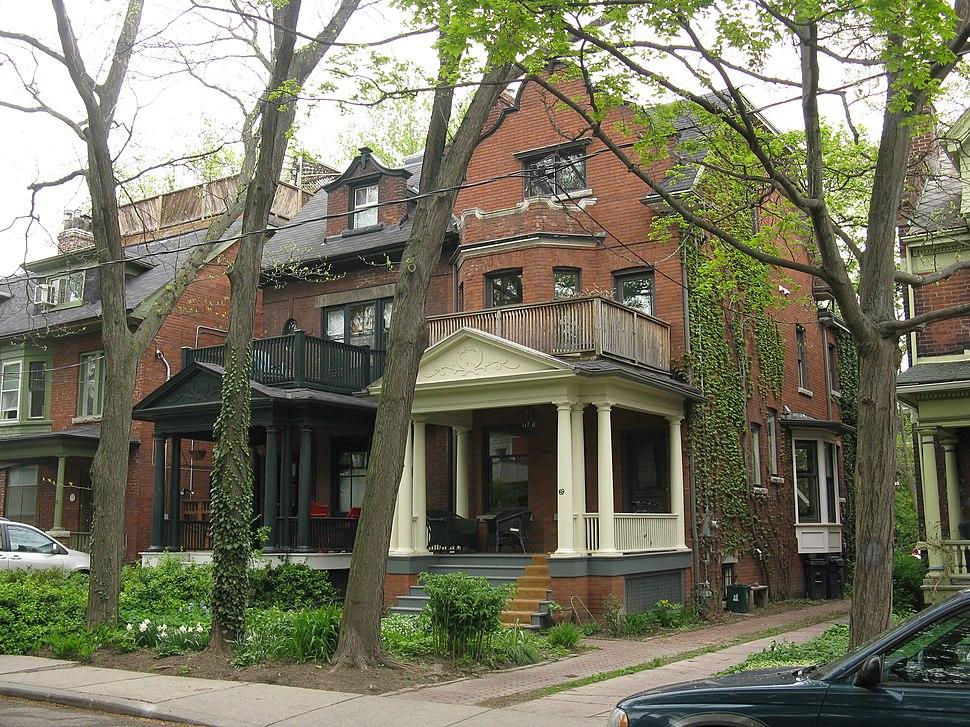 Jane Jacobs home Toronto