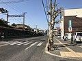 Japan National Route 2 on east side of Senkoji Crossing.jpg