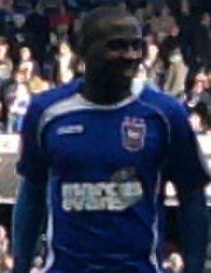 Jason Scotland - Scotland with Ipswich Town in 2010