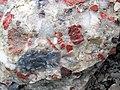 Jasper-quartz pebble conglomerate (Lorrain Formation, Paleoproterozoic, ~2.3 Ga; Ottertail Lake Northeast roadcut, near Bruce Mines, Ontario, Canada) 10 (46793166875).jpg