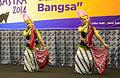 Javanese-style dance at the 8th Malam Anugerah Sastra, Inna Garuda, Yogyakarta 2014-10-22 01.jpg