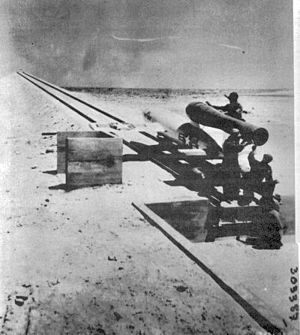1st Experimental Guided Missiles Group - Postwar testing of the Republic-Ford JB-2 at Holloman Air Force Base, New Mexico