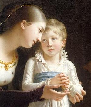 Henriette Lorimier - Jeanne de Navarre, detail