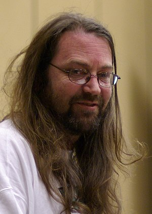 Jeff Minter - Jeff Minter speaking at the Game Developers Conference in 2007.