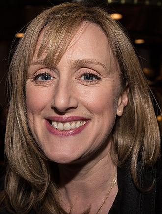Jenna Russell - Russell at the WhatsOnStage Awards 2015