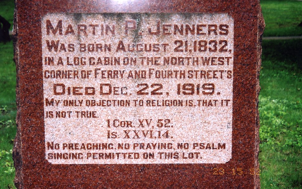 Jenners Tombstone
