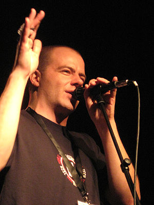 "Jeroen Tel - Jeroen Tel performing at ""Back in Time Live"" in 2008"