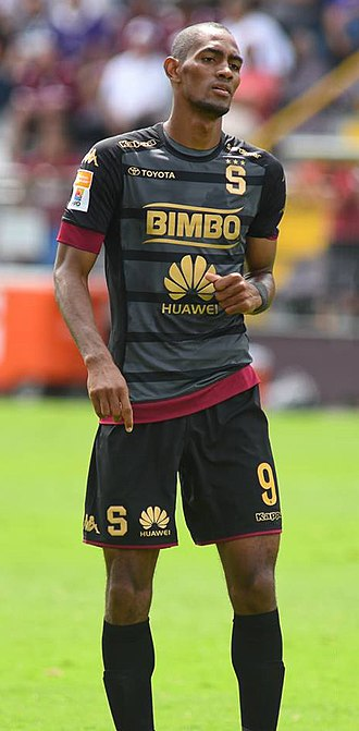 Jerry Bengtson - Bengtson playing for Saprissa in 2017