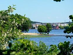 Jezioro Sępoleńskie widok z brzegu. - panoramio (7).jpg
