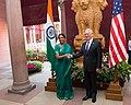 Jim Mattis with Nirmala Sitharaman in New Delhi - 2017 (36624276764).jpg