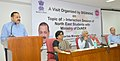 Jitendra Singh addressing an interaction session of North East students with the Ministry of DoNER, in New Delhi. The Secretary of Ministry of DoNER, Shri Naveen Verma is also seen.jpg