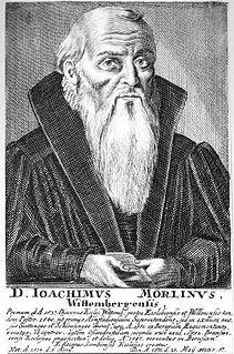 Joachim Mörlin German bishop