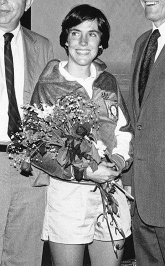 Joan Benoit - Benoit in 1984